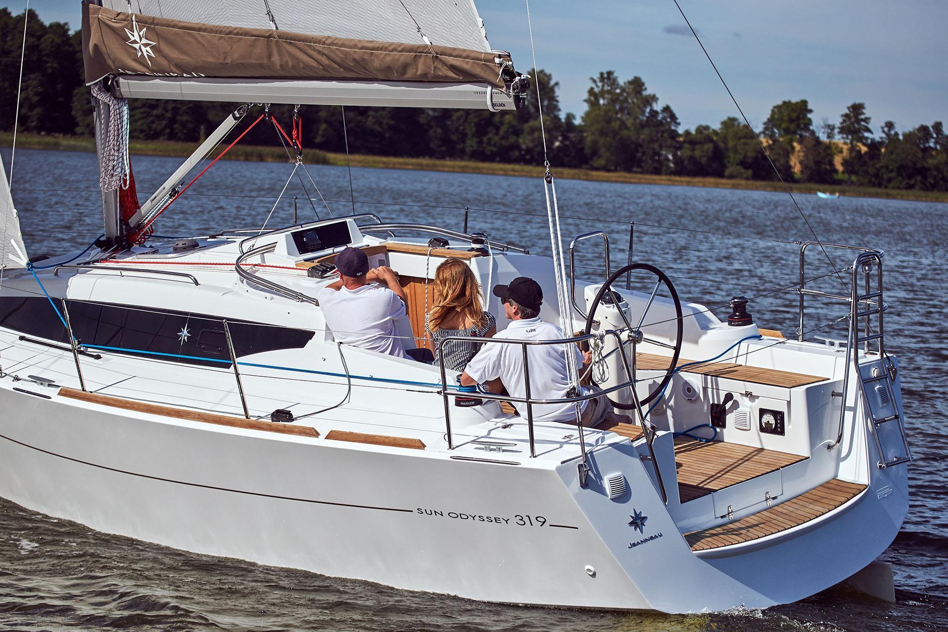 Zeiljacht Jeanneau Sun Odyssey 319 Viventa