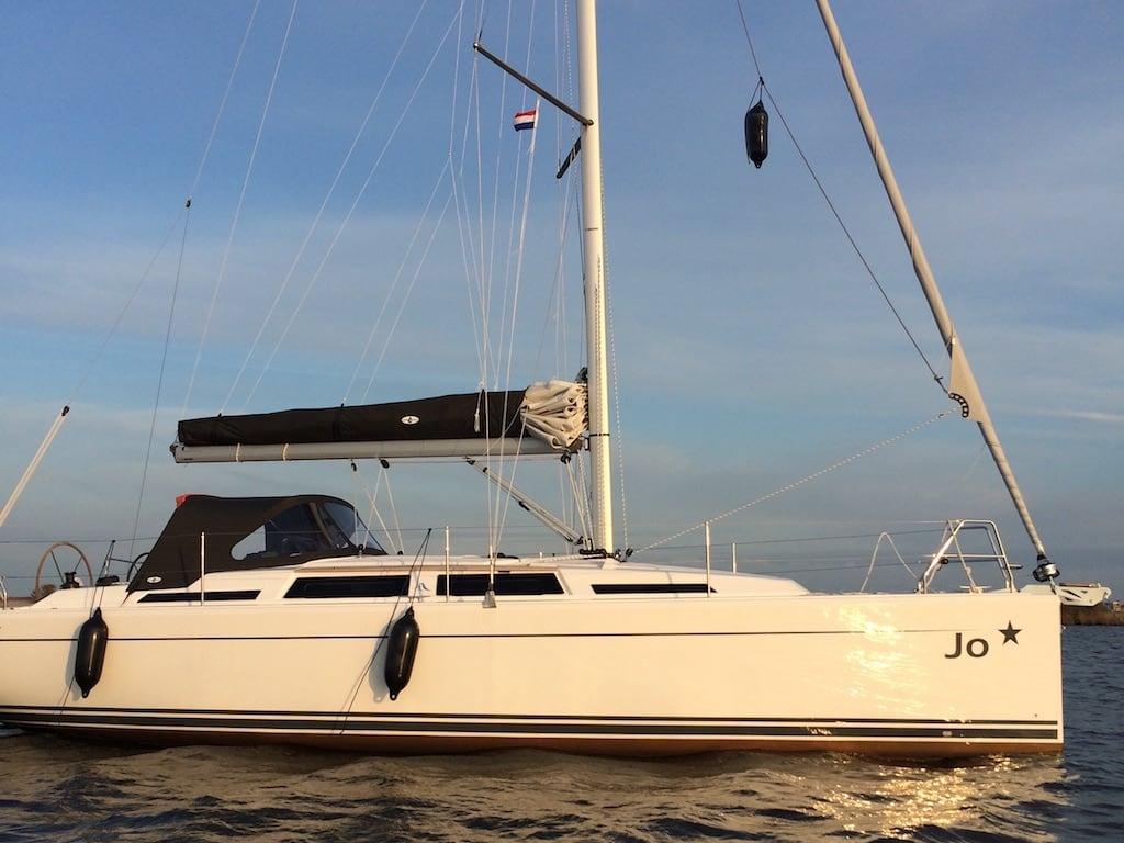 Zeilboot Hanse 345