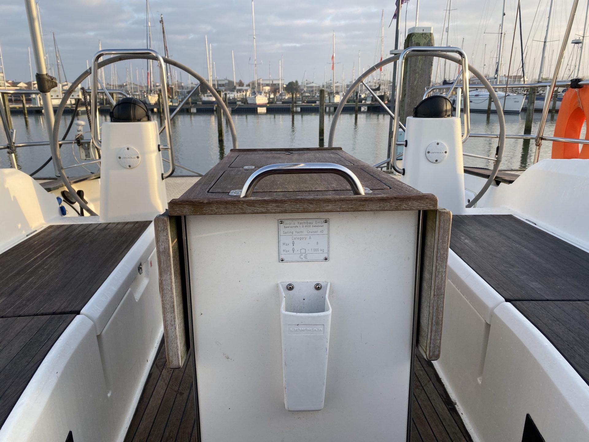 Kuip zeilboot Bavaria 40